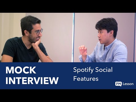 Mock Product Manager Interview (LinkedIn PM): Improve Spotify's Social Features