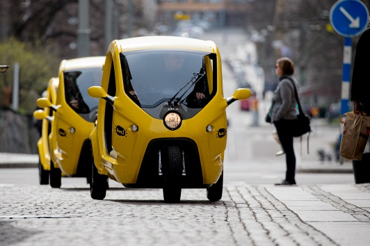 Fast, cheap and emission-free vehicles   launching in Stockholm