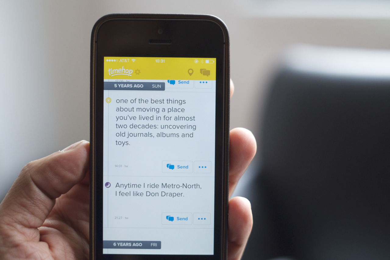 Timehop founder leaves Snapchat's product team – Department of Product