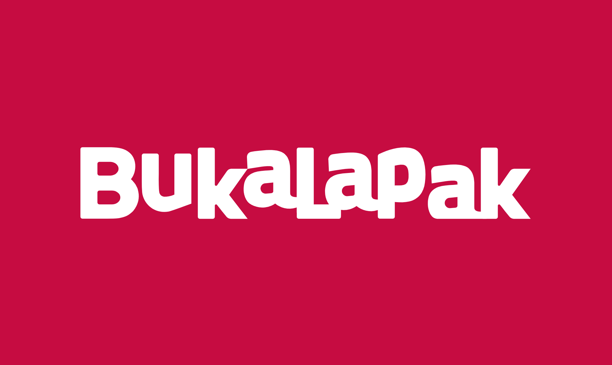 Bukalapak's seed round pitch deck
