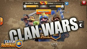 Clash Royale Clan Wars – An update to re-engage its loyal fans?